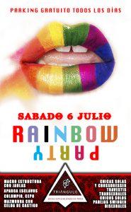 RAINBOW PARTY <br> (5-6 JULIO 18) <br> PARKING GRATUITO