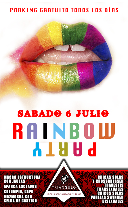 RAINBOW PARTY <br> (5-6 JULIO 18) <br> PARKING GRATUITO