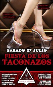 FIESTA TACONAZOS <br> (Sábado, 27 Julio 2019) <br> PARKING GRATUITO