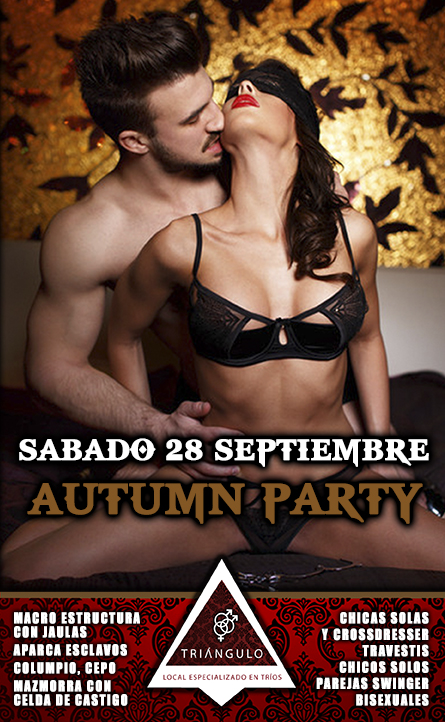 AUTUMN PARTY <br> (SÁBADO 28 DE SEPTIEMBRE 2019) <br> PARKING GRATUITO