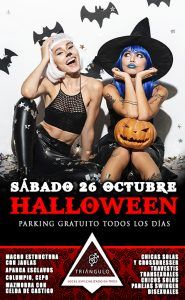 HALLOWEEN PARTY <br> (SÁBADO 26 OCTUBRE 2019) <br> PARKING GRATUITO