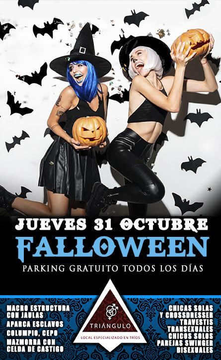 FALLOWEEN PARTY <br> (JUEVES, 31 OCTUBRE 2019) <br> PARKING GRATUITO