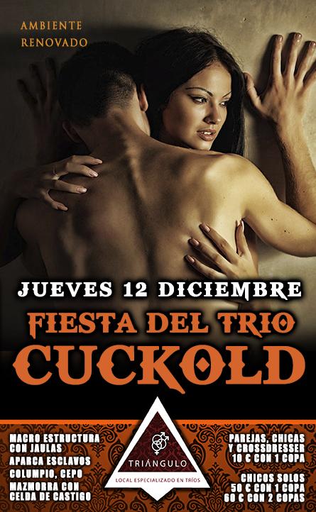 FIESTA DEL TRÍO: CUCKOLD <br> (JUEVES, 12 DICIEMBRE 2019) <br> PARKING GRATUITO