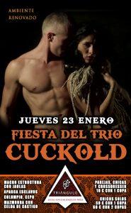FIESTA DEL TRÍO: CUCKOLD <br> (JUEVES, 23 Enero 20) <br> PARKING GRATUITO