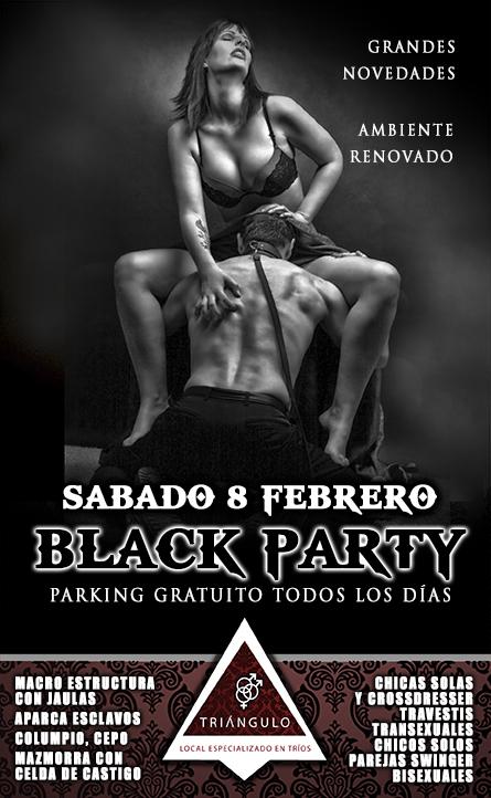 BLACK PARTY <br> (SÁBADO 8 Febrero 20) <br> PARKING GRATUITO