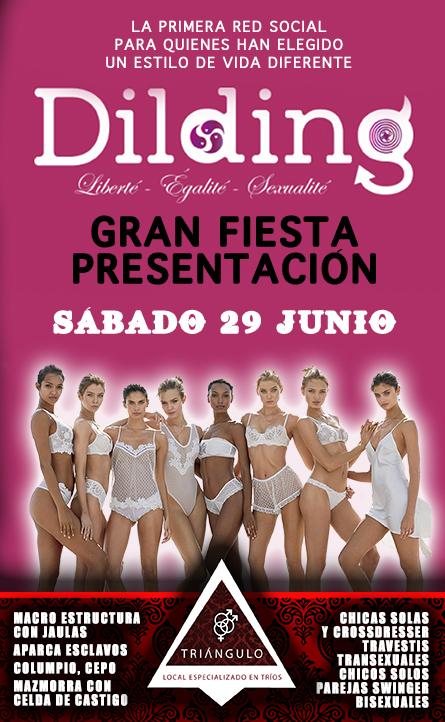 FIESTA PRESENTACIÓN DILDING <br> (Sábado 29 Junio 2019) <br> PARKING GRATUITO