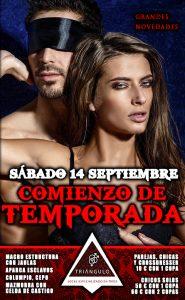 FIESTA COMIENZO DE TEMPORADA <br> (SÁBADO 14 DE SEPTIEMBRE 2019) <br> PARKING GRATUITO