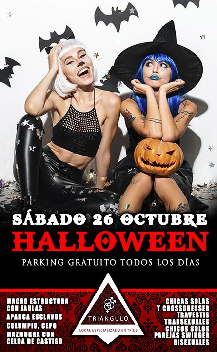 HALLOWEEN PARTY <br> (SÁBADO 26 OCTUBRE 2019) <br> PARKING GRATUITO