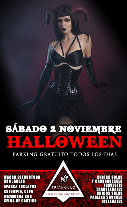 HALLOWEEN PARTY <br> (SÁBADO 2 NOVIEMBRE 2019) <br> PARKING GRATUITO