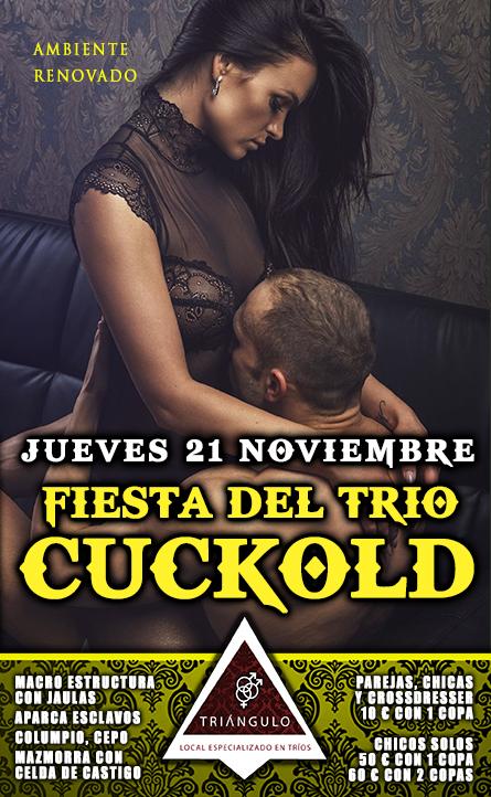 FIESTA DEL TRÍO: CUCKOLD <br> (JUEVES, 21 Noviembre 2019) <br> PARKING GRATUITO