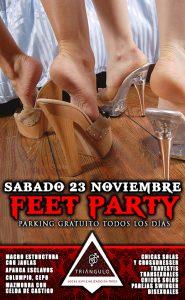 FEET PARTY <br> (SÁBADO 23 NOVIEMBRE 2019) <br> PARKING GRATUITO