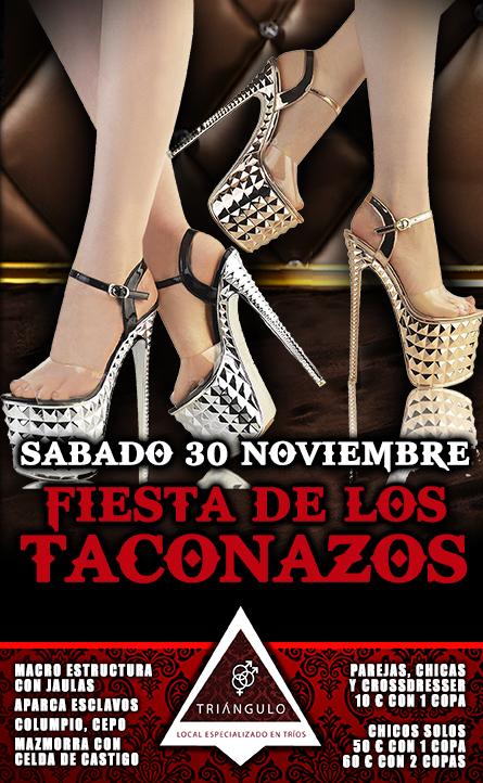 FIESTA TACONAZOS <br> (Sábado, 30 Noviembre 2019) <br> PARKING GRATUITO