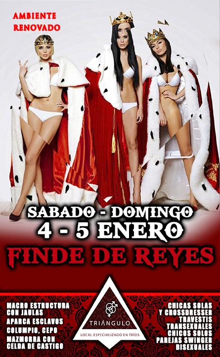 FINDE DE REYES <br> (Sábado 4, Domingo 5, Enero 2020) <br> PARKING GRATUITO