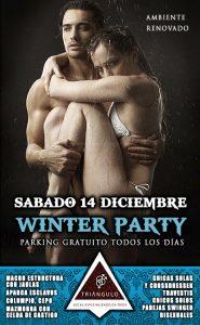 WINTER PARTY <br> (SÁBADO 14 DE DICIEMBRE 2019) <br> PARKING GRATUITO