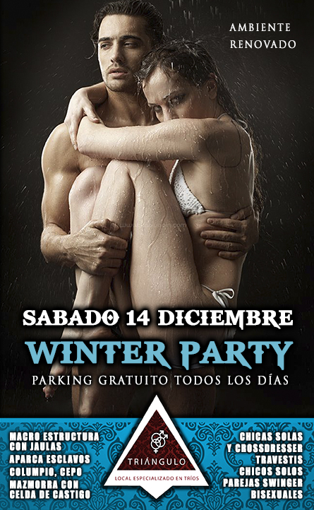 WINTER PARTY <br> (SÁBADO 14 DE DICIEMBRE 2019) <br> PARKING GRATUITO