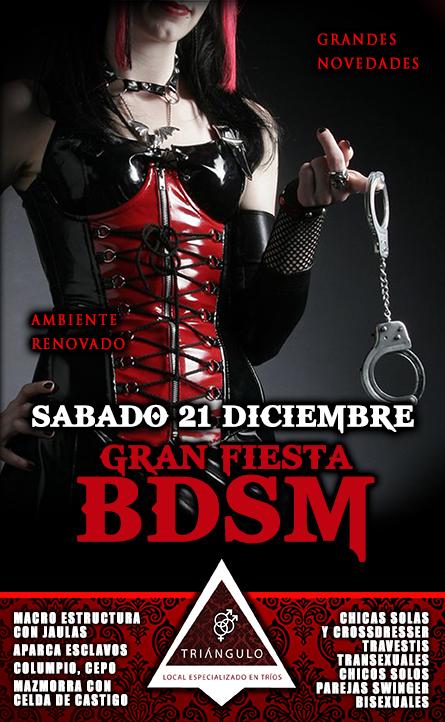 GRAN FIESTA BDSM <br> (SÁBADO 21 DE DICIEMBRE 2019) <br> PARKING GRATUITO