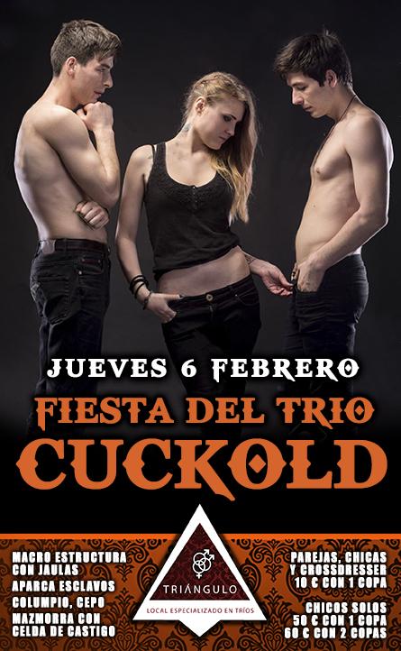 FIESTA DEL TRÍO: CUCKOLD <br> (JUEVES, 6 Febrero 20) <br> PARKING GRATUITO