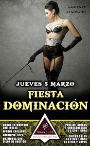FIESTA DOMINACIÓN <br> (Jueves, 5 Marzo 20) <br> PARKING GRATUITO