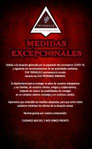 MEDIDAS EXCEPCIONALES